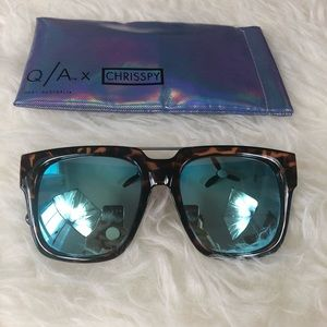 Mila Sunglasses from the Quay x Chrisspy collab